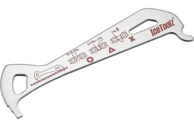 Przymiar do łańcucha rowerowego IceToolz 62C4
