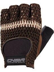 Rękawiczki rowerowe Chiba Athletic (brązowy)