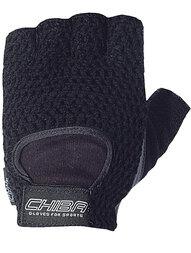 Rękawiczki rowerowe Chiba Athletic (czarny)