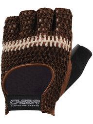 Rękawiczki rowerowe CHIBA Summer Classic brązowe