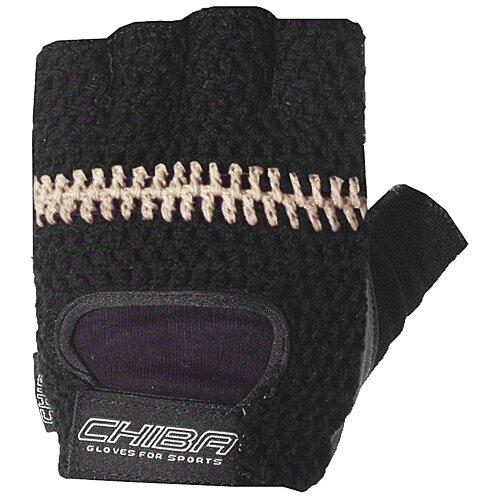 Rękawiczki rowerowe CHIBA Summer Classic czarne