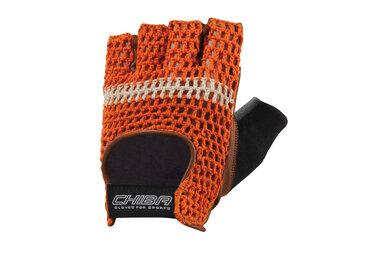 Rękawiczki rowerowe CHIBA Summer Classic Orange