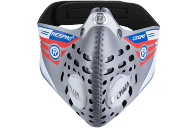 Respro Cinqro maska antysmogowa - srebrna
