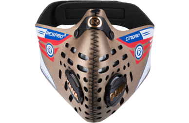 Respro Cinqro maska antysmogowa - złota