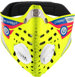 Respro Cinqro maska antysmogowa - żółta