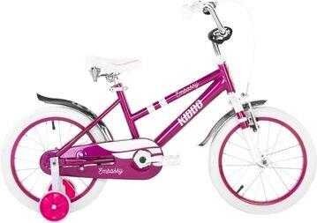 """Rower dziecięcy Embassy Purple Kiddo 16"""""""