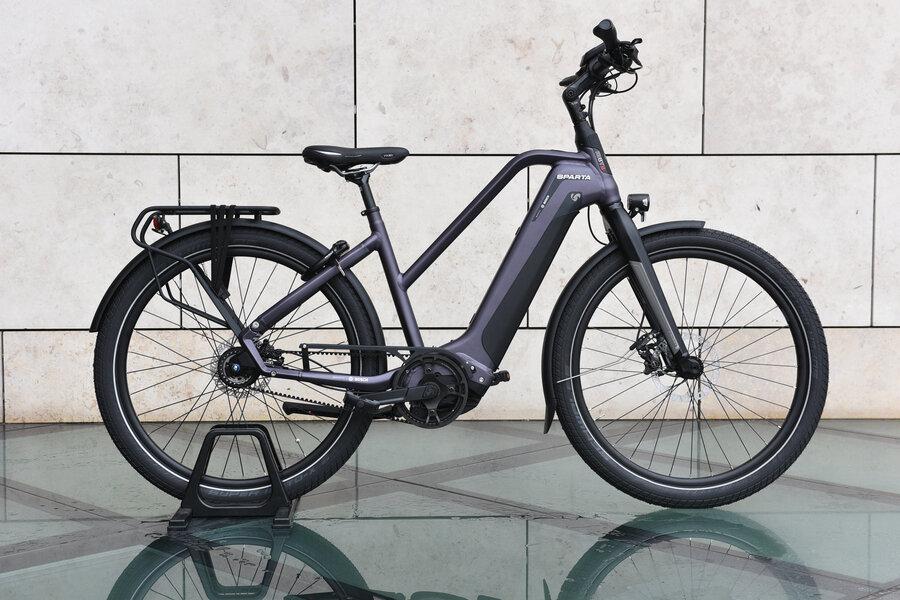 Rower elektryczny na pasku Sparta D-Burst M8TB Smart Alfine 8 GPS