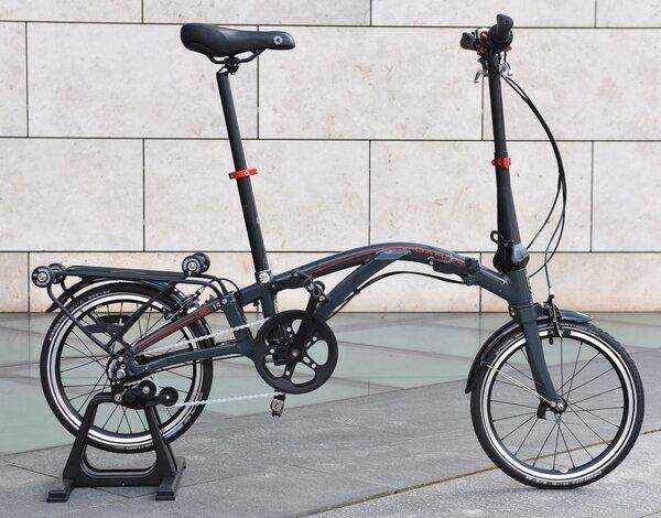 Rower składany Dahon Curl i4+ 16 / Antracytowy