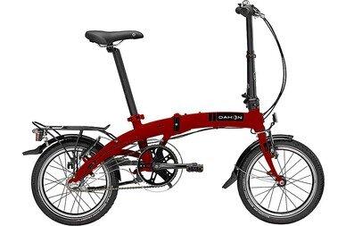 Rower składany Dahon Curve i3 16 / Czerwony