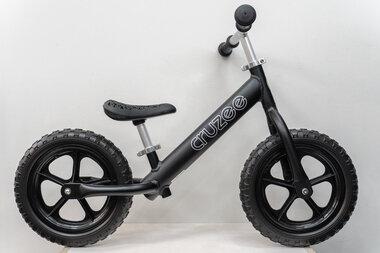 Rowerek biegowy CRUZEE 12 Czarne Koła