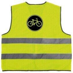 Rowerowa kamizelka odblaskowa Wowow Mesh Gilet Bike