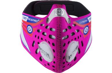 Rowerowa maska antysmogowa Respro Cinqro Hot Pink