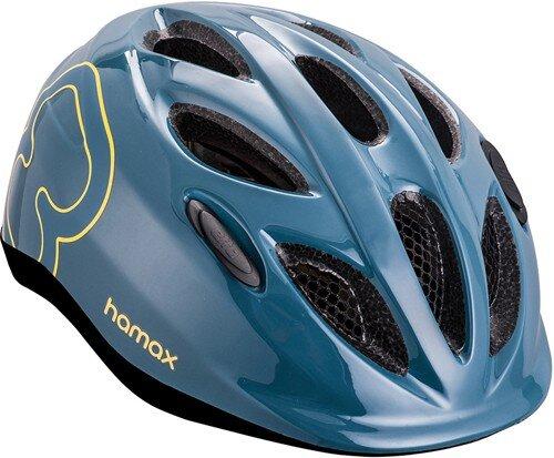 Rowerowy kask dziecięcy Hamax Skydive Junior - niebieski