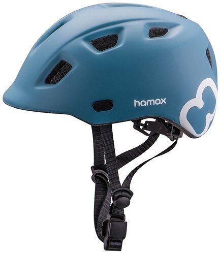 Rowerowy kask dziecięcy Hamax Thundercap Junior - niebieski