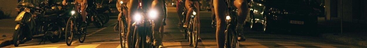 Przednie lampki rowerowe