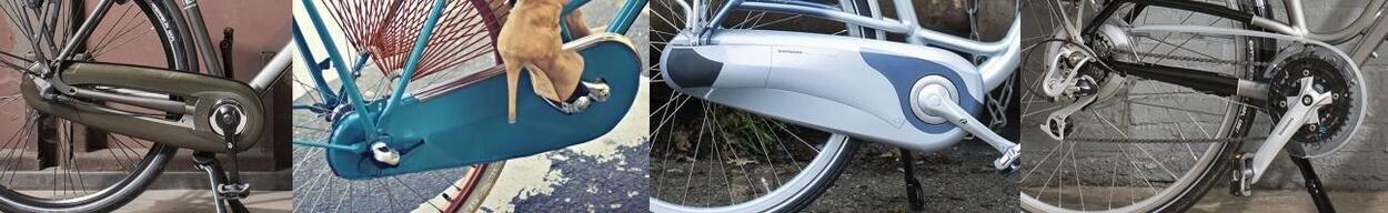 Osłony łańcucha rowerowego
