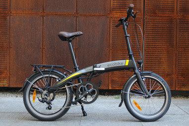 Składany rower elektryczny EcoBike Turism