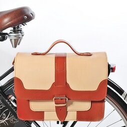 Skórzana torba rowerowa Oxford Ride Premium