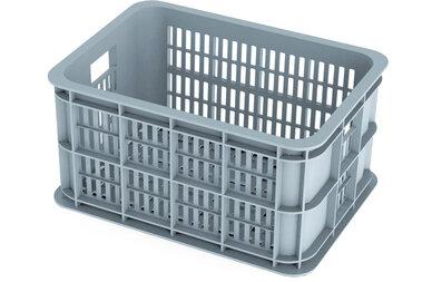 Skrzynka na przedni bagażnik rowerowy Basil Crate - rozmiar S