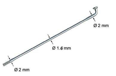 Szprycha cieniowana z nyplem Alipna Long Life 2,0 x 1,6 x 2,0 mm