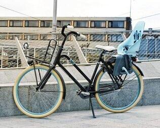 Tylny fotelik rowerowy Urban Iki