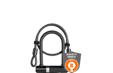 U-lock i linka zabezpieczająca AXA Newton U-Lock Mini