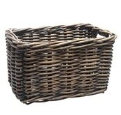 Wiklinowy koszyk rowerowy New Looxs Brisbane brązowy