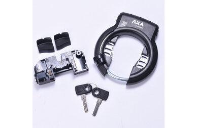 Zamek baterii roweru elektrycznego BOSCH + Axa Defender