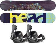 Zestaw deska snowboardowa (damska) HEAD Stella + wiązania HEAD NX Fay I