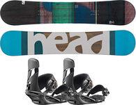 Zestaw deska snowboardowa (męska) HEAD True + wiązania HEAD NX One