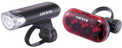Zestaw lampek CATEYE HL-EL135N + TL-LD135