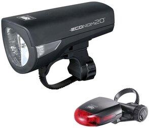 Zestaw lampek CATEYE HL-EL345G + TL-LD270G