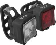 Zestaw lampek rowerowych AXA Niteline 44