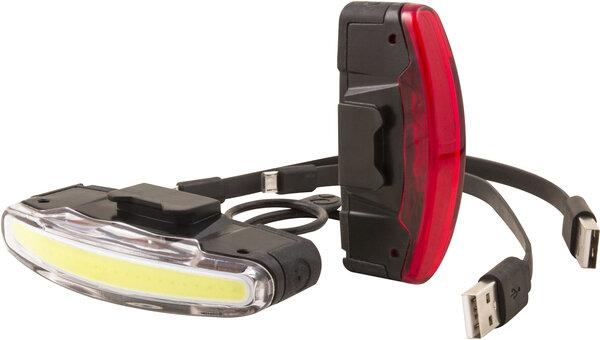 Zestaw lampek rowerowych Spanninga Arco (USB)
