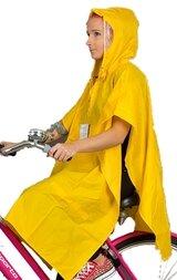 Żółte ponczo rowerowe Hock Rain Care